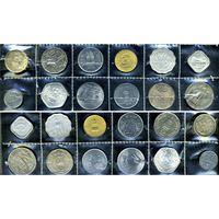 Индия, комплект из 12 монет