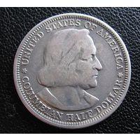 50 центов 1893 Колумб