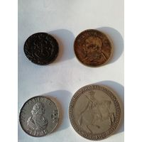 Копии монет. Цена за 4 штуки