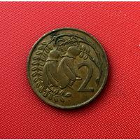 59-06 Новая Зеландия, 2 цента 1967 г.