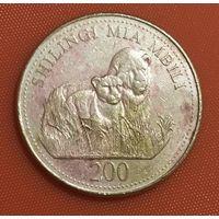106-10 Танзания, 200 шиллингов 1998 г.
