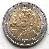 Австрия, 2 евро 2015