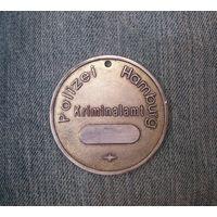 Медаль - жетон Polizei Hamburg, Kriminalamt