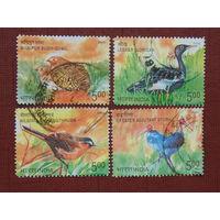 Индия 2006г. Птицы