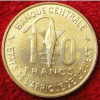 7603:  10 франков 1966 Западная Африка