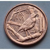 Каймановы острова, 1 цент 2005 г.