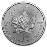 """Канада 2019 серебро (1 oz) """"Maple leaf"""""""