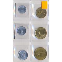 Словения комплект монет (6 шт.) 1993-2000 гг.