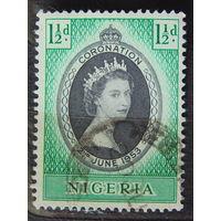 Нигерия. 1953 г. Коронация.
