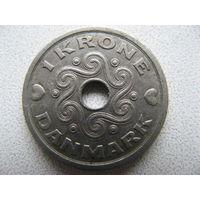 Дания 1 крона 1994 г.