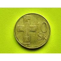 Словакия. 10 крон 1993.