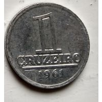 Бразилия 1 крузейро, 1961 1-8-4
