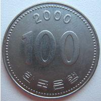Южная Корея 100 вон 2000 г. (d)