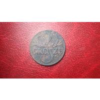 2 гроша 1938 год Польша