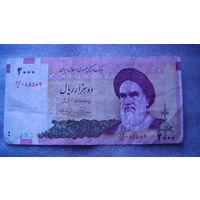 Банкнота Иран 2 000 риалов . распродажа