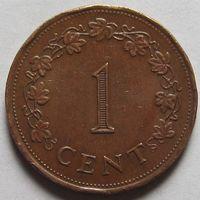 Мальта, 1 цент 1977 г