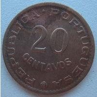 Мозамбик Португальский 20 сентаво 1961 г. Цена за 1 шт. (gl)