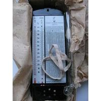 Гигрометр психрометрический ВИТ-2. 1989 г.в. в оригинальной коробке с документами