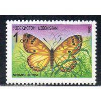 Фауна Узбекистан 1992 год серия из 1 марки