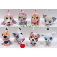Полная серия фигурок Fresh Toys. Давай играть 3. Sweet Puppies (2012)