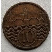 Чехословакия 10 геллер 1931