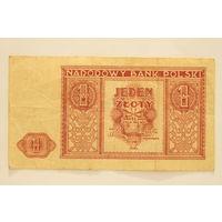 Польша, 1 злотый 1946 год