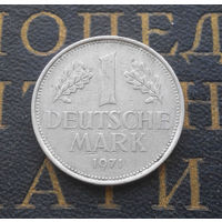 1 марка 1971 (J) Германия ФРГ #01