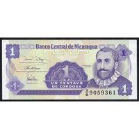 Никарагуа / NICARAGUA_ND(1991)_1 Centavo_P#167_UNC