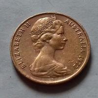 1 цент, Австралия 1972 г.