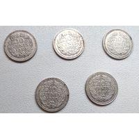 Нидерланды 10 центов, 1930 6-4-15*19