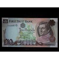Северная Ирландия. 10 фунтов 1998г. UNC