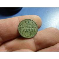 2 гроша 1927 г. Речь Посполита (2)