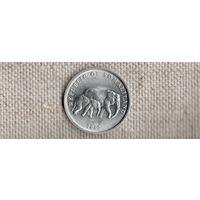 Сомалиленд 5 шиллингов 2005/фауна/слоны/(NS)