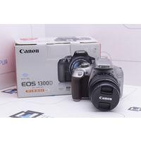 Зеркальная камера Canon EOS 1300D Kit 18-55mm IS II (18 Мп). Гарантия