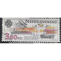 Чехословакия 1983 связь автомобиль самолет (АНД