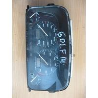 102027 VW Golf3 щиток приборов MFA 1H6919033F