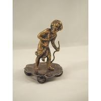 Статуэтка бронзовая Ангелок, Путто , 19 век.