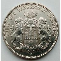 3 марки 1909г., Гамбург