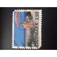 Дания. Туризм. 1991г. гашеная