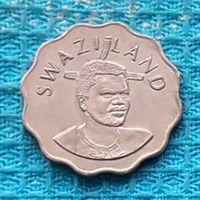Свазиленд 5 центов 1999 года. UNC. Инвестируй выгодно в монеты планеты!
