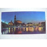 ГДР, Дрезден; 1977, чистая (размер 10,5*21 см).