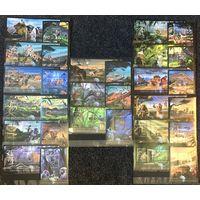 Гвинея Фауна 2012 год чистая полная серия из 15-ти листов и 15-ти блоков
