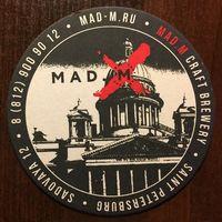 Подставка под пиво Mad.M Craft Brewery /Россия/ No 1