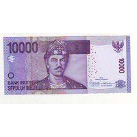 Индонезия. 10000 рупий 2013 г.- состояние !
