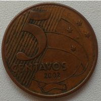 5 центавос 2002 Бразилия