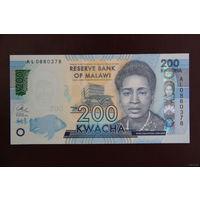 Малави 200 квача 2016 UNC