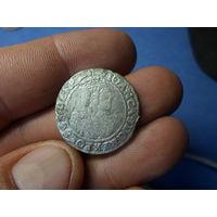 6 грошей 1664 г. AT Ян Казимир II Речь Посполита