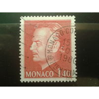 Монако 1980 князь Ренье 3 1,4фр