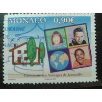 Монако 2009 Турбаза Михель-1,8 евро гаш