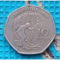 Маврикий 10 рупий 1997 года